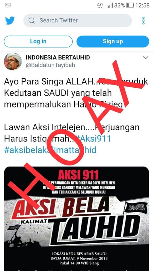 Kuasa hukum Front Pembela Islam (FPI) Munarman