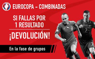 sportium devolucion 125 euros combinadas Eurocopa 2016