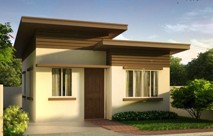 Beautiful houses with floor plans and estimated cost for Small house budget philippines