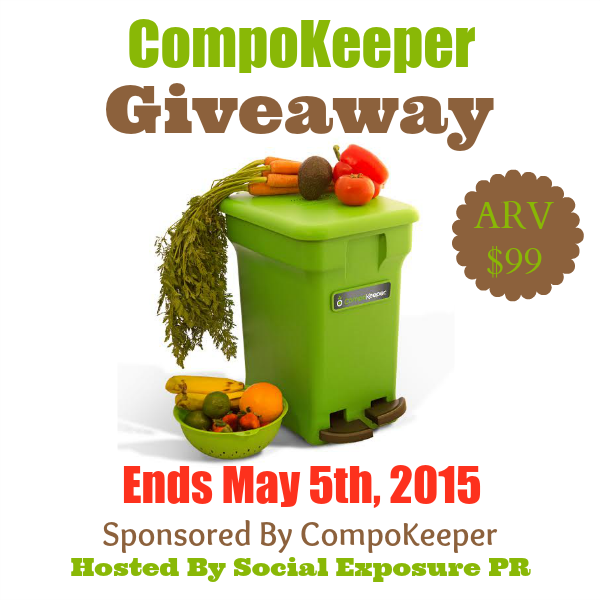 Enter the CompoKeeper Giveaway. Ends 5/5.