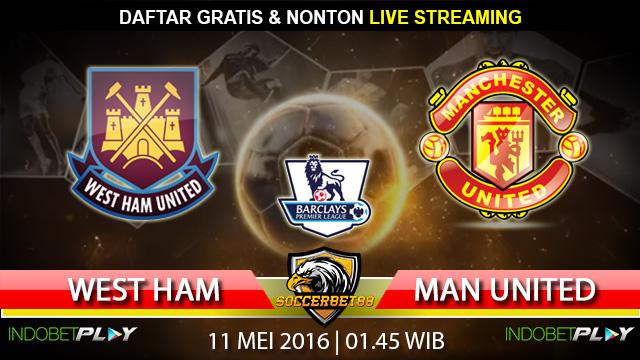 Prediksi West Ham vs Manchester Utd 11 Mei 2016 (Liga Inggris)
