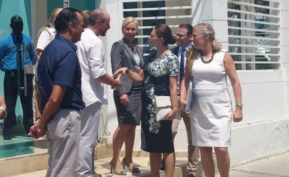 Princess Victoria And Prince Daniel Visit Colombia