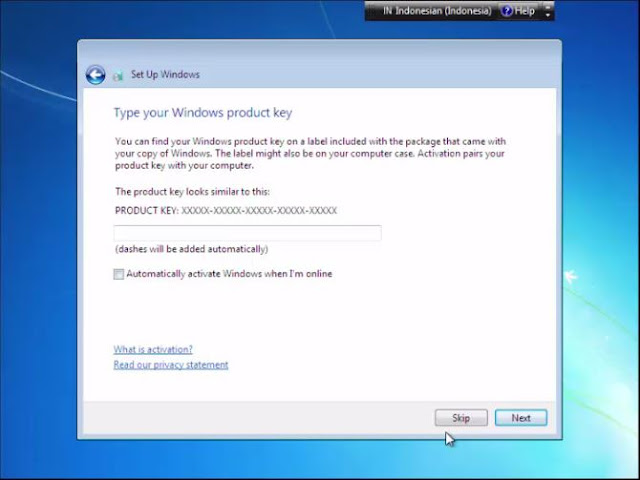 Cara install Windows 7 dengan Flashdisk tanpa kehilangan data 12
