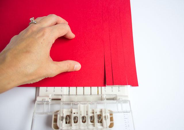 How to use the Martha Stewart fringe cutter tool