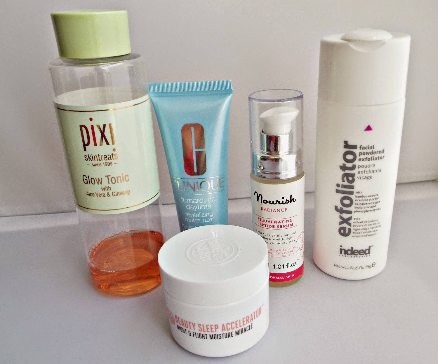 Top 5 Skincare products for glowing skin