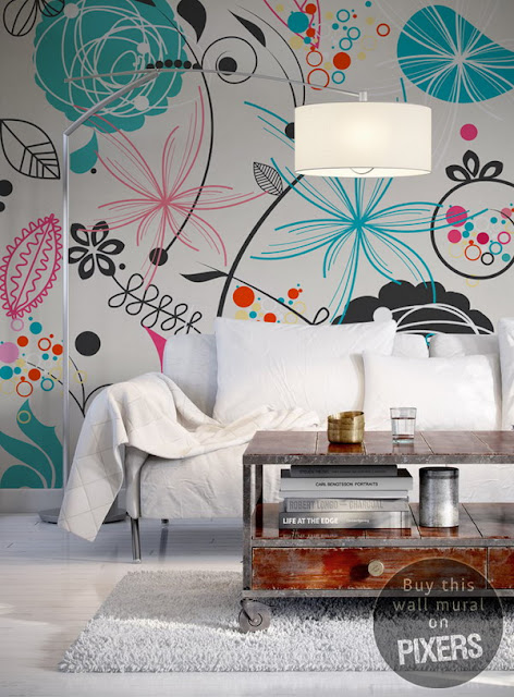 Photo Wall Murals To Decorate Rooms 6