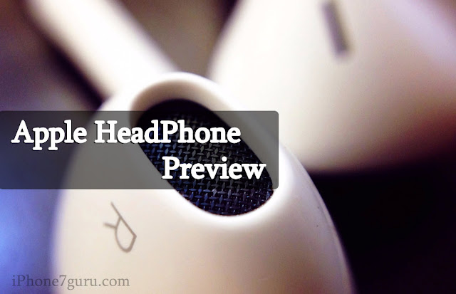 iPhone Headphone Preview