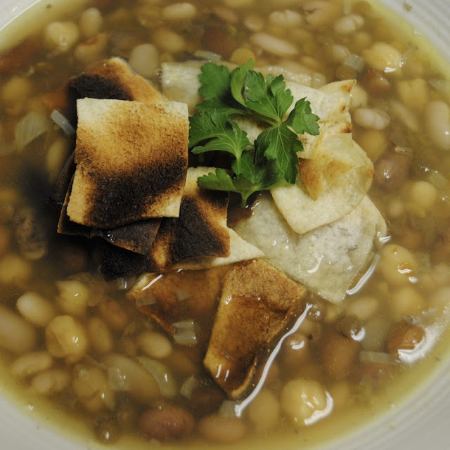 MAKHLOUTA (MIXED BEAN SOUP)