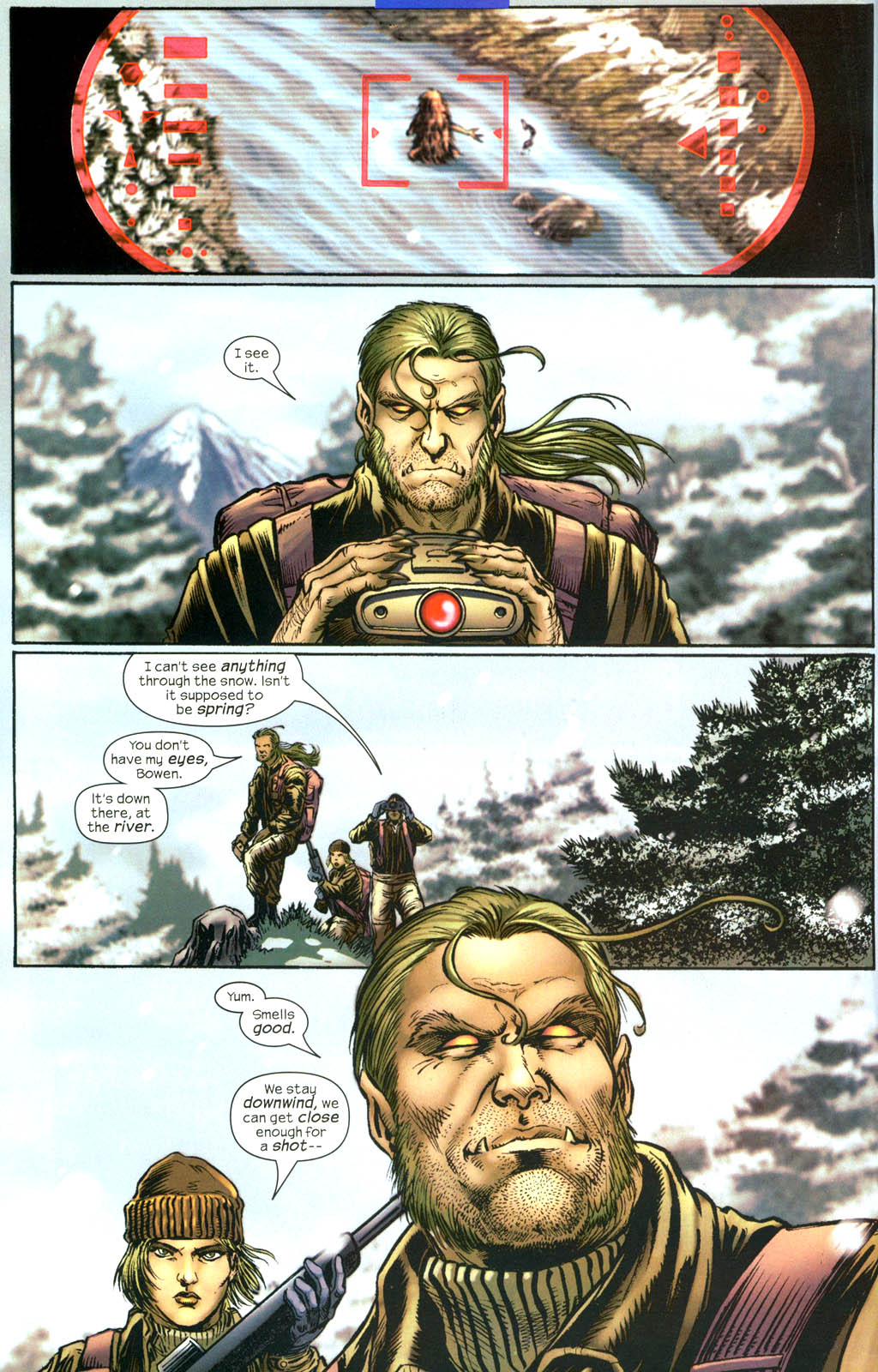 Read online Wolverine (2003) comic -  Issue #13 - 4