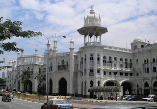 Railway Station and Administration Building - Kuala Lumpur