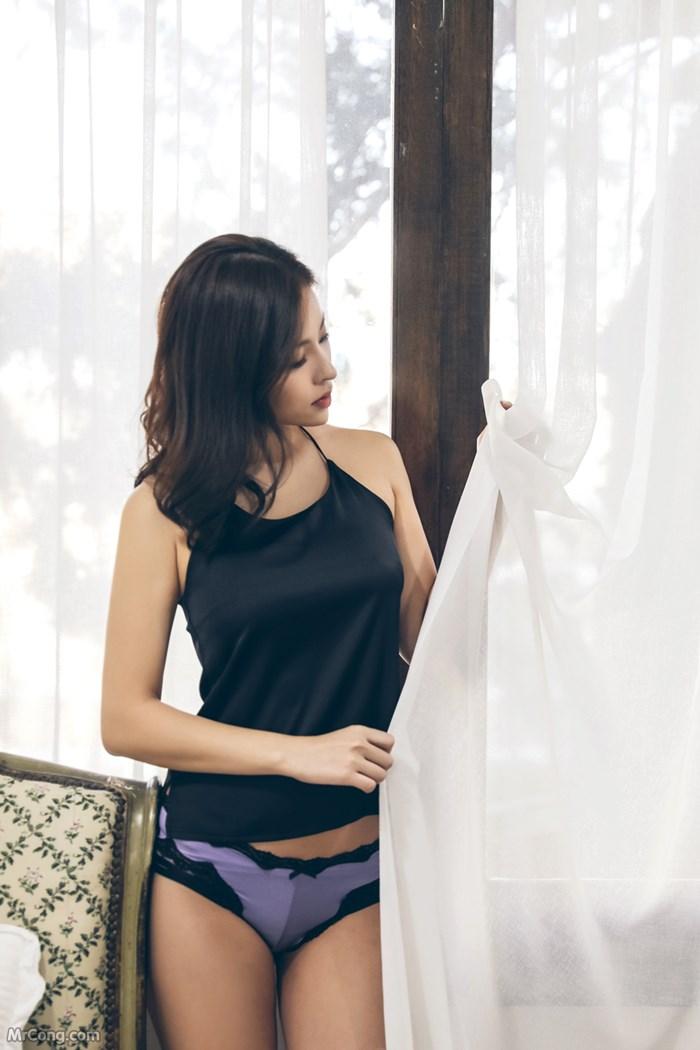 Image Kwon-Soo-Jung-MrCong.com-086 in post Người đẹp Kwon Soo Jung đầy mê hoặc trong bộ sưu tập nội y (134 ảnh)