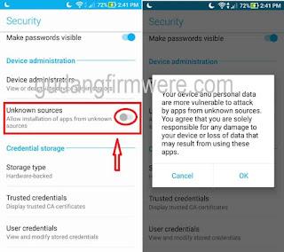 Cara Unlock Bootloader Asus Zenfone