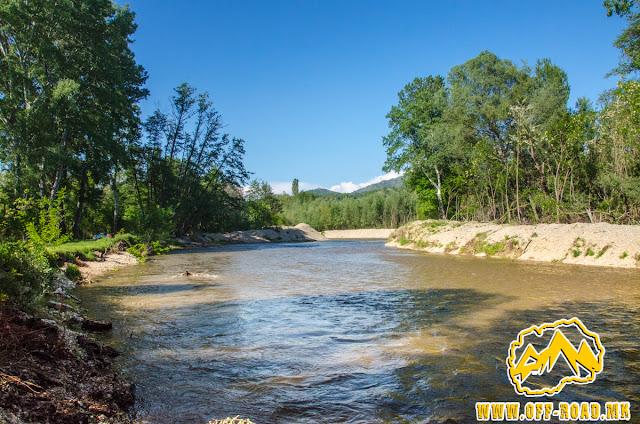 Pcinja river