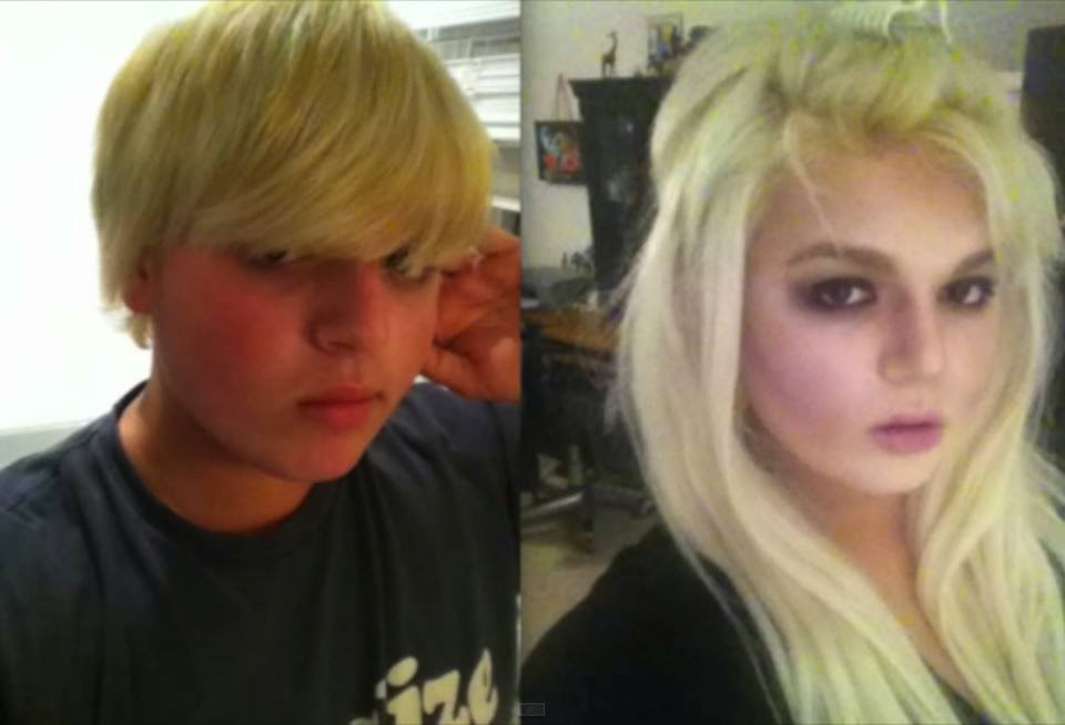 boy to girl - Before And After