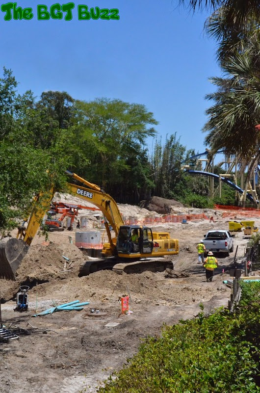 Busch Gardens Tampa Project 2016 : Construction Update #5