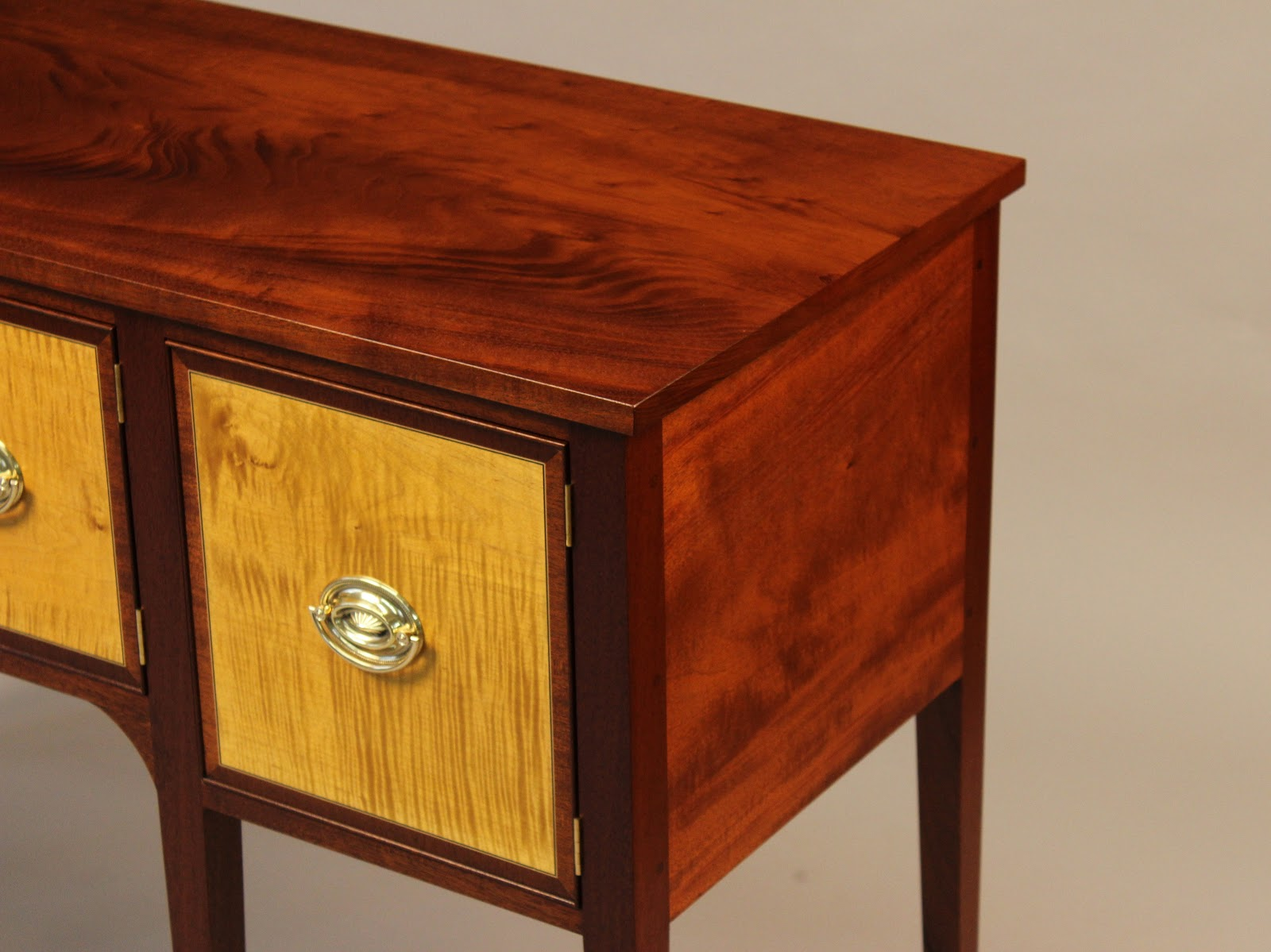 Doucette and Wolfe Fine Furniture Makers: Hepplewhite Sideboard
