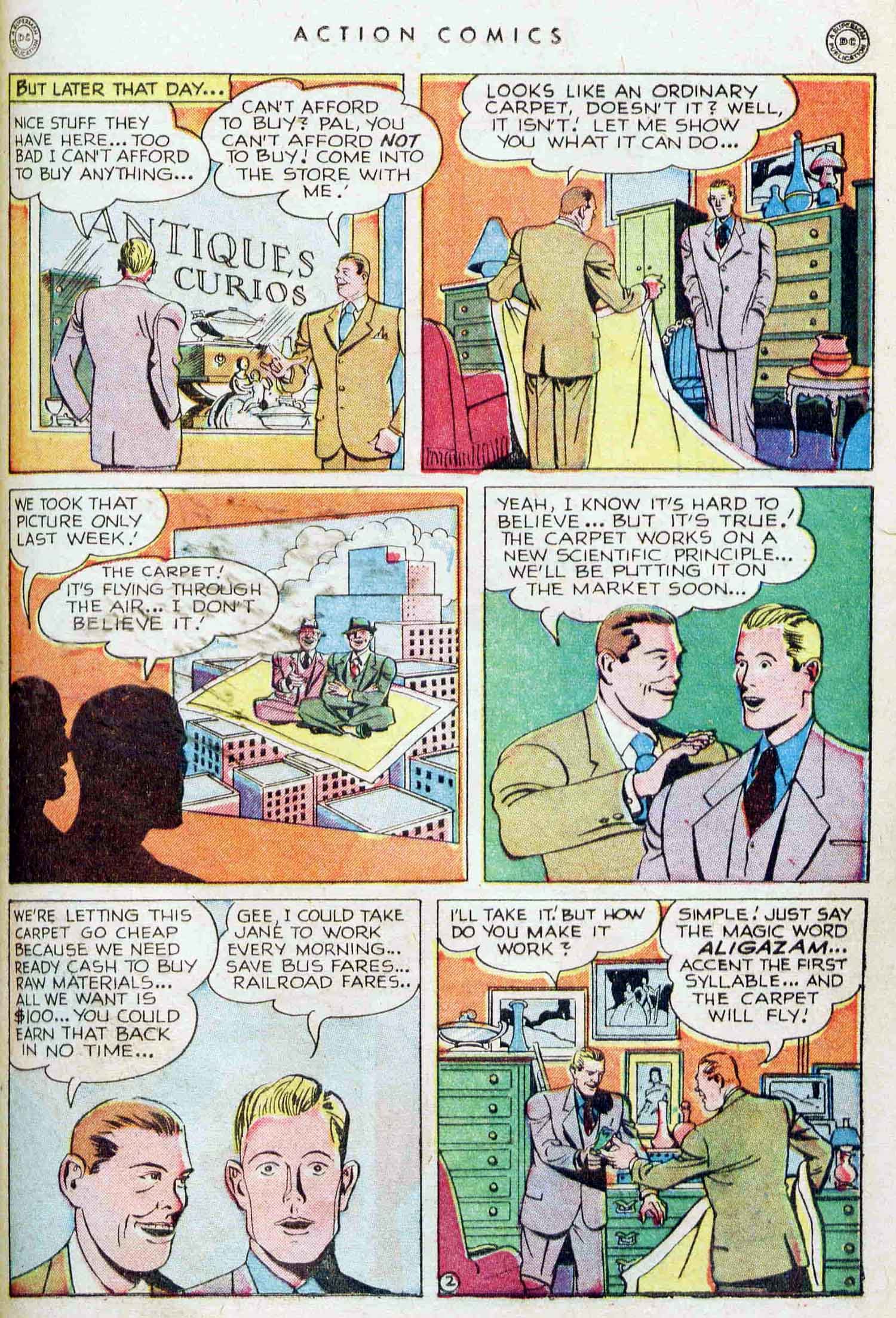 Action Comics (1938) 129 Page 23