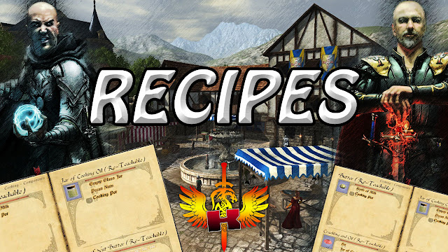 Owl's Head - Corin, Decoration NPC - Chimney, Loangboat & Mug Recipes ♥ Shroud Of The Avatar Recipes