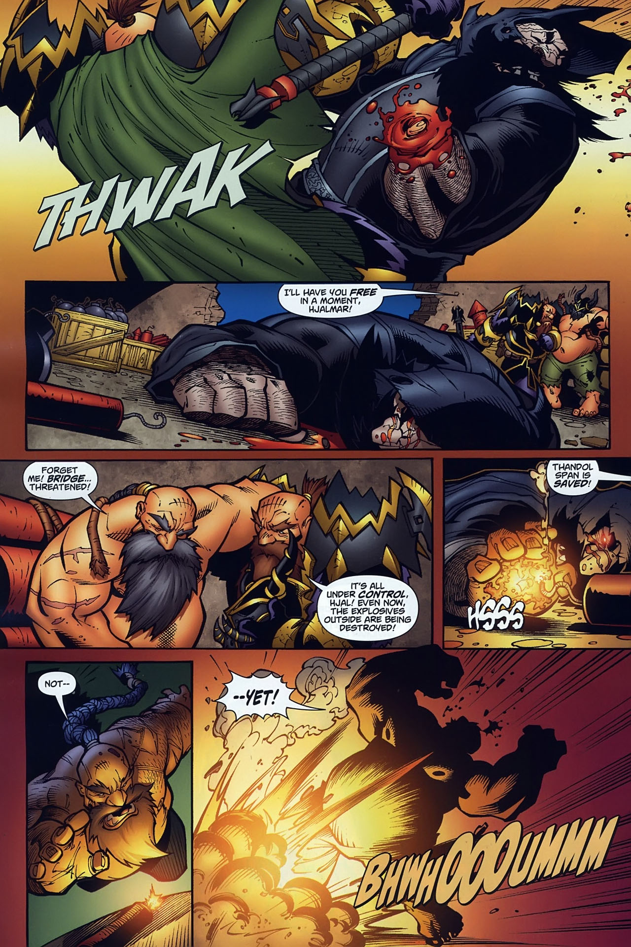 Read online World of Warcraft comic -  Issue #10 - 19