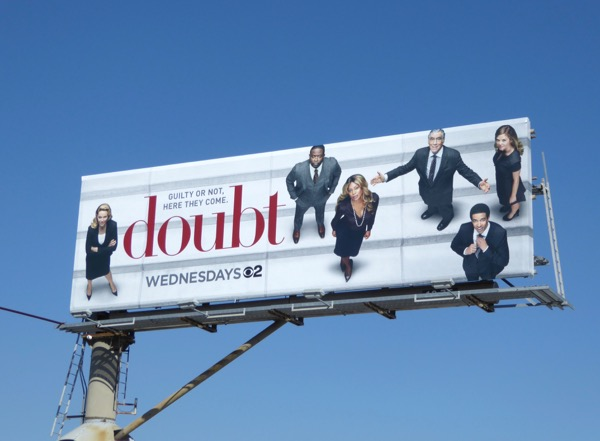 Doubt series premiere billboard