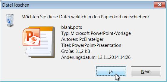 Pceinsteiger Powerpoint Papierformat Dauerhaft ändern