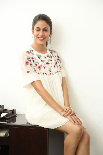 Lavanya Tripati At Mister Promotions Stills