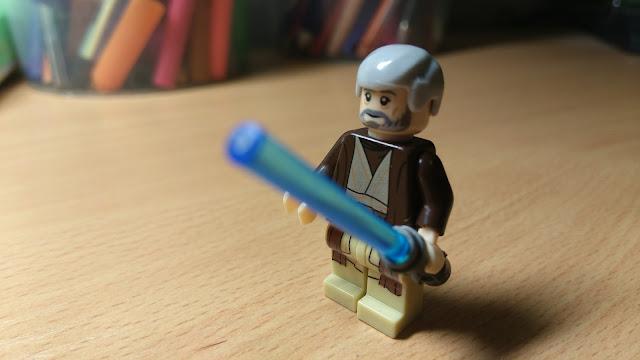 Оби-Ван Кеноби фигурка лего Звёздные войны