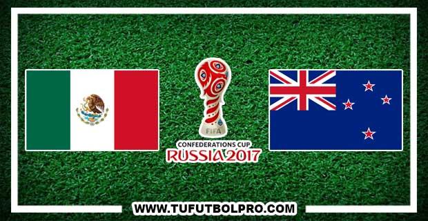 Ver México vs Nueva Zelanda EN VIVO Por Internet Hoy 21 de Junio 2017