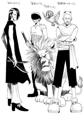 awalnya, zoro dibuat sebagai anak buah buggy oleh oda