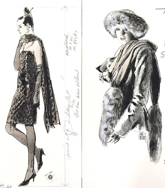 Jim Howard Fashion Illustrations