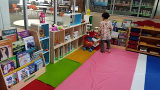 Pojok Mainan di Kids Corner Perpustakaan Bank Indonesia Bandung