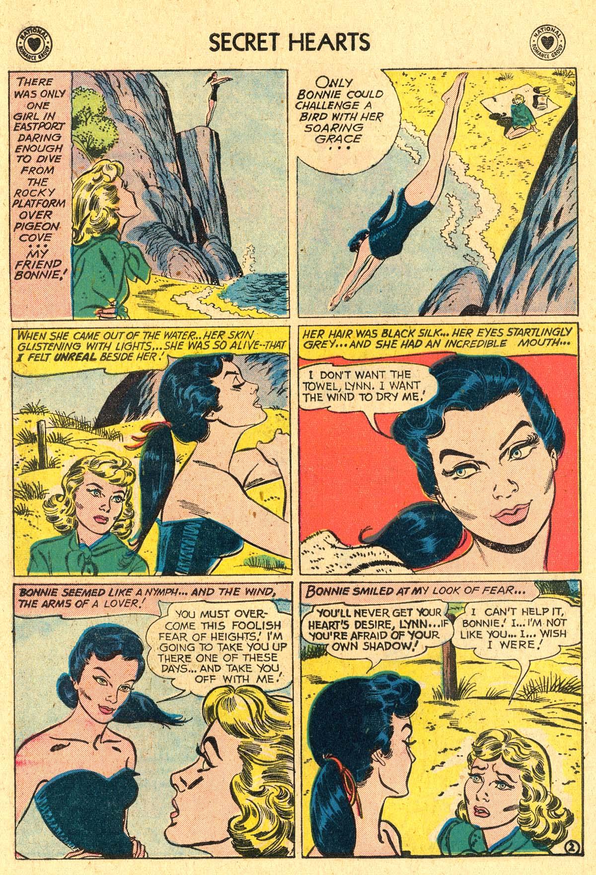 Read online Secret Hearts comic -  Issue #60 - 28
