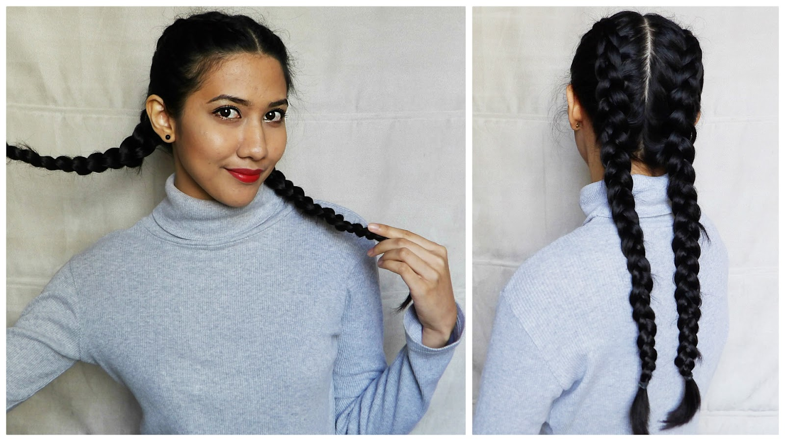 Indian Hairstyles Superwoman Inspired Dutch Braid Just Jiha