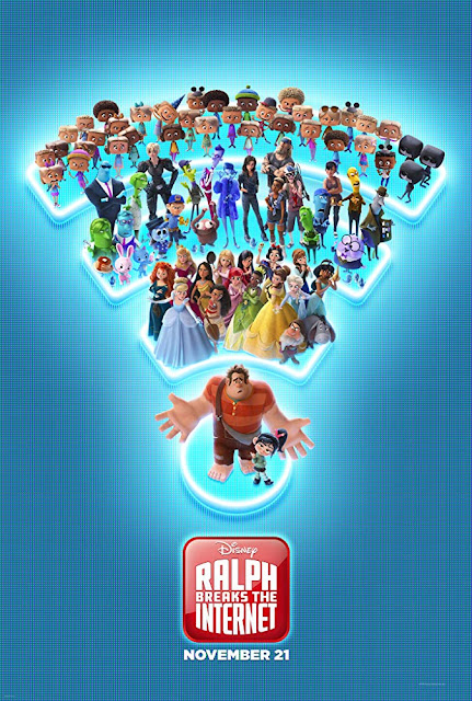Ralph Breaks the Internet 2018 Disney movie poster John C. Reilly Sarah Silverman