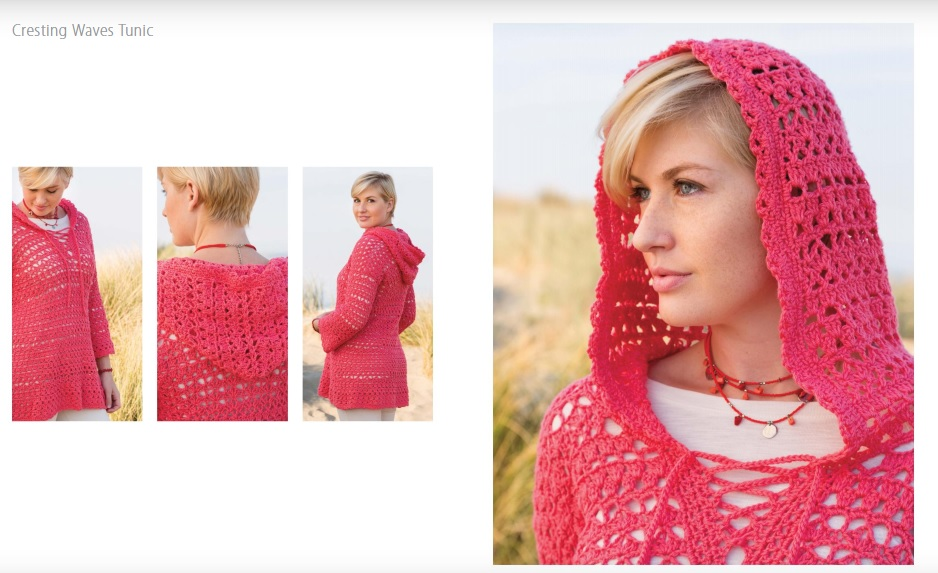 Cresting Waves Tunic Crochet Pattern