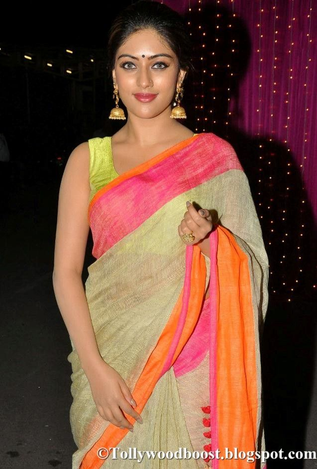 Anu Emmanuel At Zee Telugu Apsara Awards 2017 In Yellow Saree