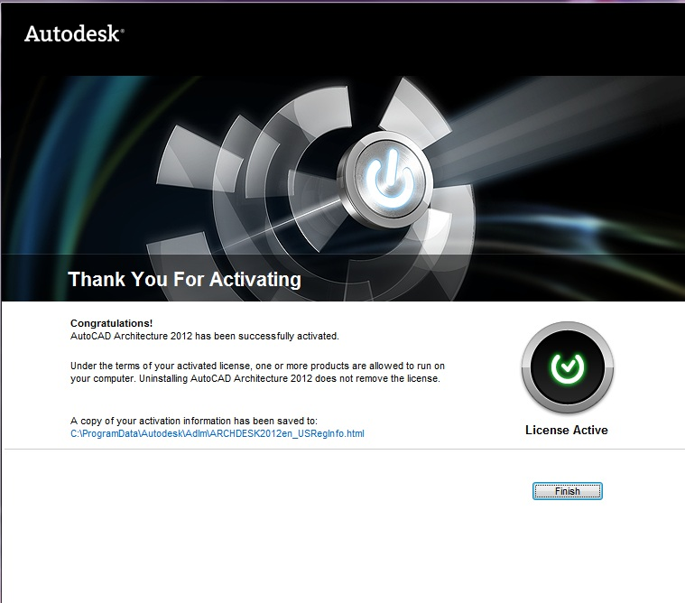 AUTODESK 2012 ALL PRODUCTS ACTIVATOR (X32 & X64) WINDOWS +