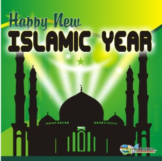 Happy New Year Islamic