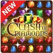 Benturan Berlian - pertandingan 3 permata Mod Apk