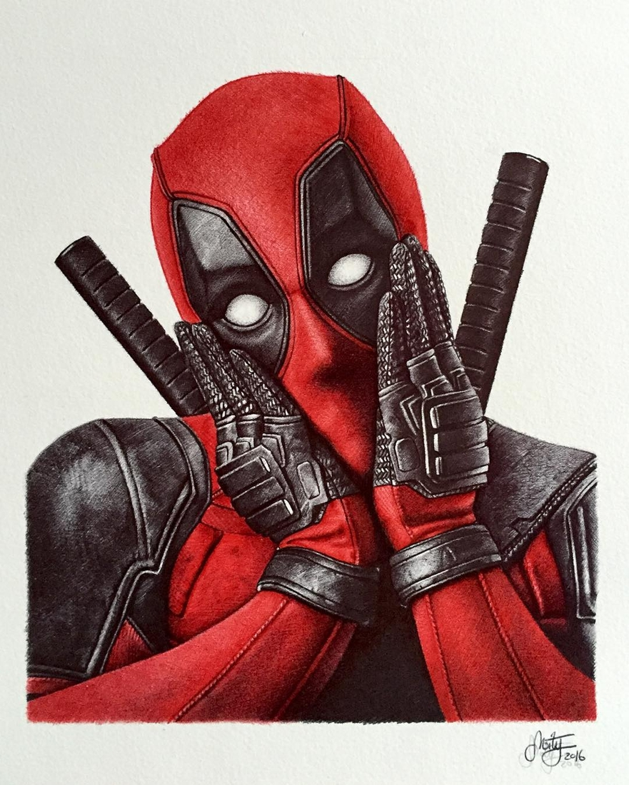 03-Deadpool-Ballpoint-Pen-Stephan-Moity-2D-Drawings-Optical-Illusions-made-to-Look-3D-www-designstack-co