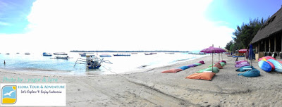 Suasana Pantai Gili Trawangan