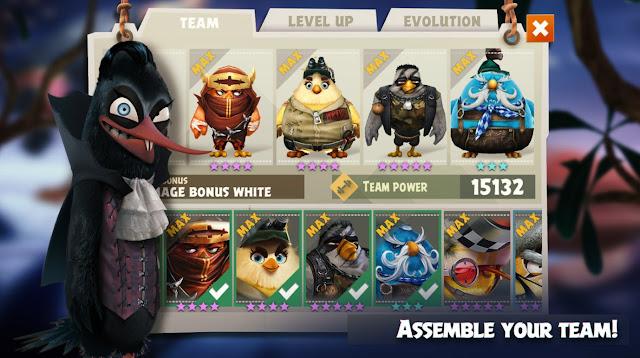 تحميل لعبة Angry Birds Evolution الطيور الغاضبة الجديدة للاندرويد والآيفون