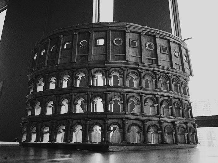 Roman Colosseum Architecture