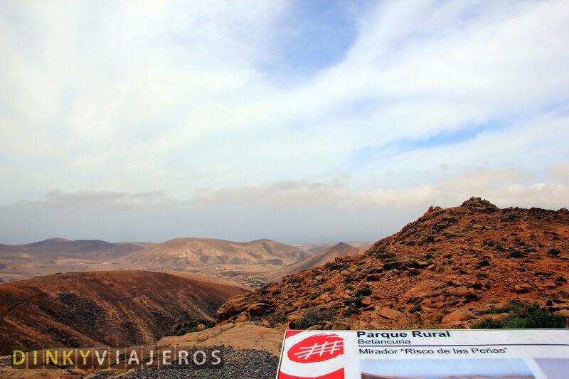 Mirador Risco de las Peñas (Parque Rural de Betancuria)