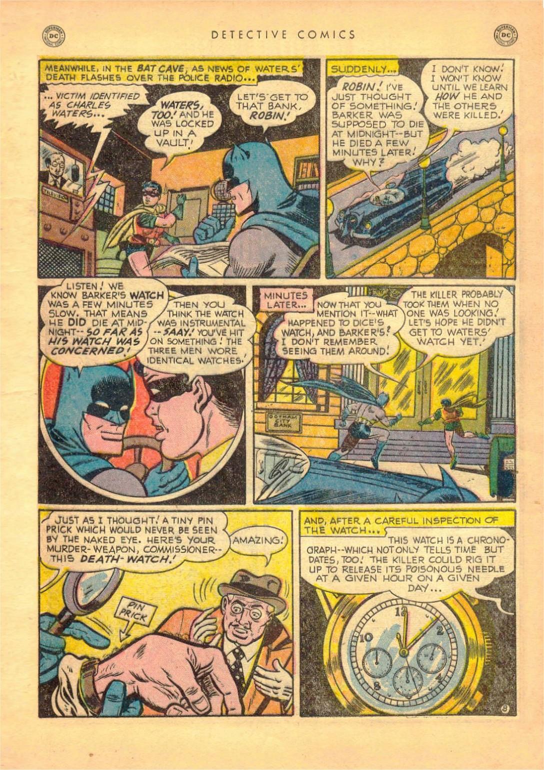 Read online Detective Comics (1937) comic -  Issue #161 - 10