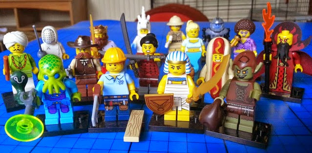 LEGO Minifigures series 13 complete set