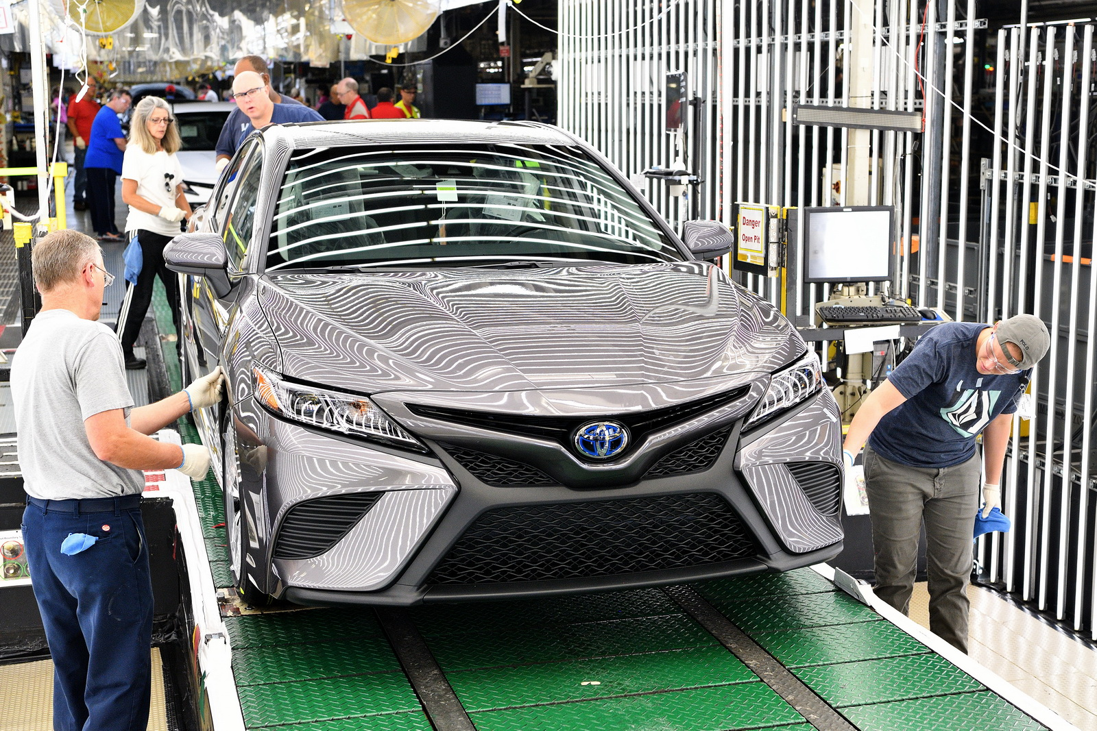 2018 Toyota Camry Enters Production At Kentucky Plant