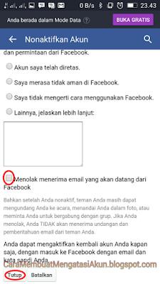 cara memblokir facebook orang lain melalui hp