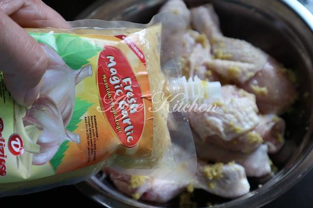 Ayam Goreng Bawang Putih Dan Halia