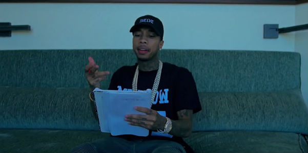 Tyga told about the relationship with Kylie Jenner